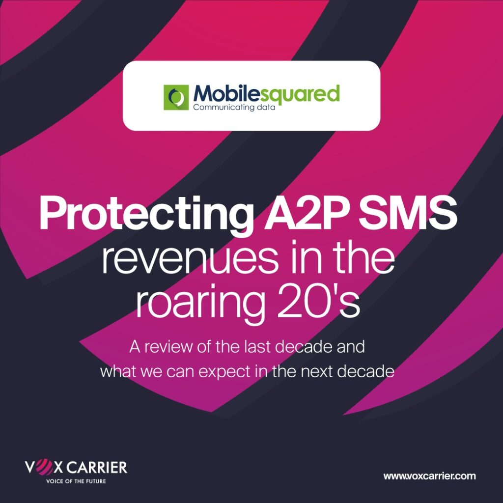 Whitepaper Protecting A2P SMS Revenues