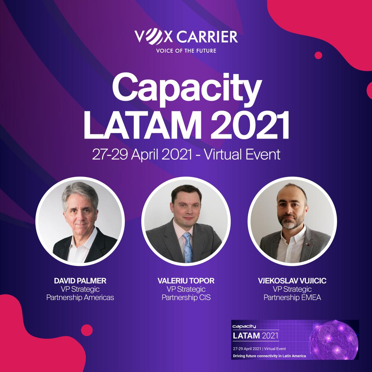 Capacity LATAM 2021 event