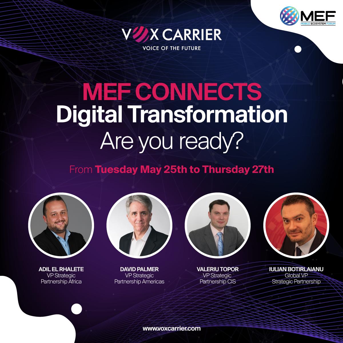 MEF Connects Digital Transformation